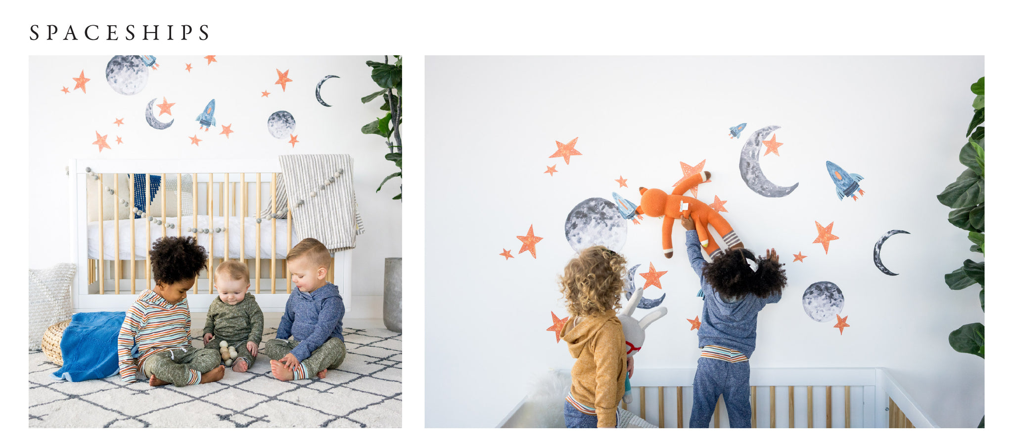 Wall decals for kind