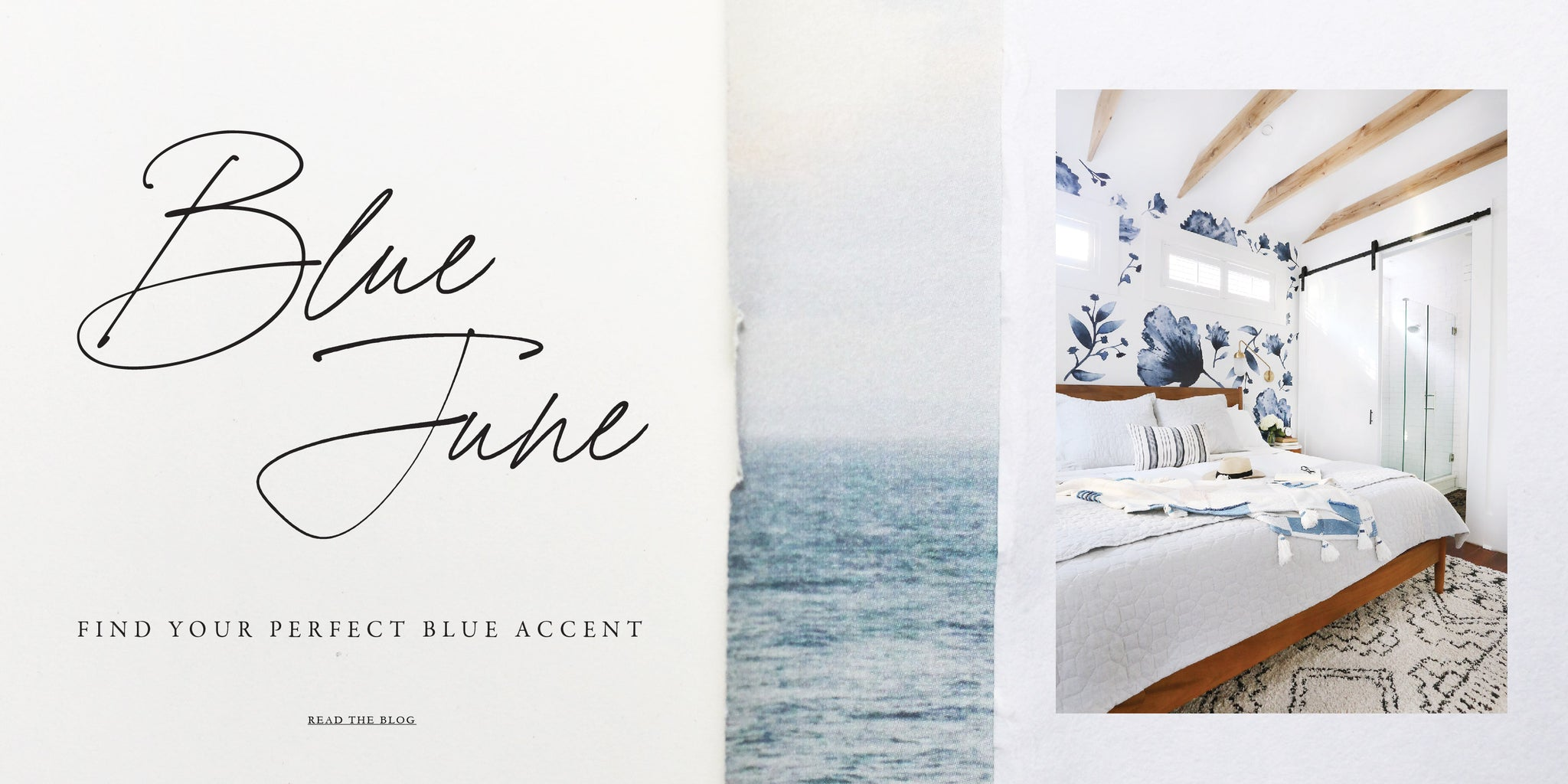 Blue color wall decals