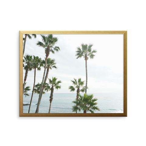 Sea of Palms Art Print