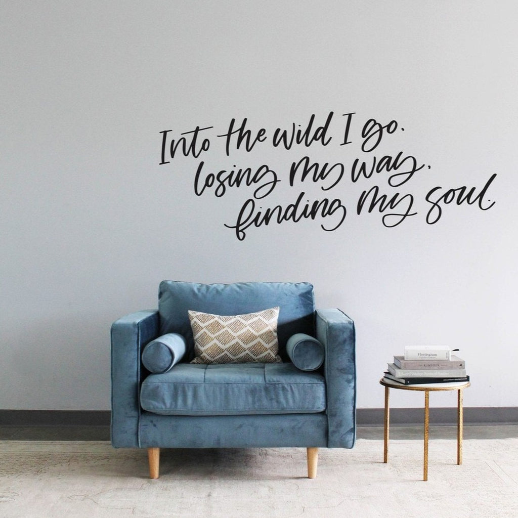 Finding My Soul Calligraphy Decal