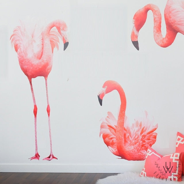 Full Color Flamingos