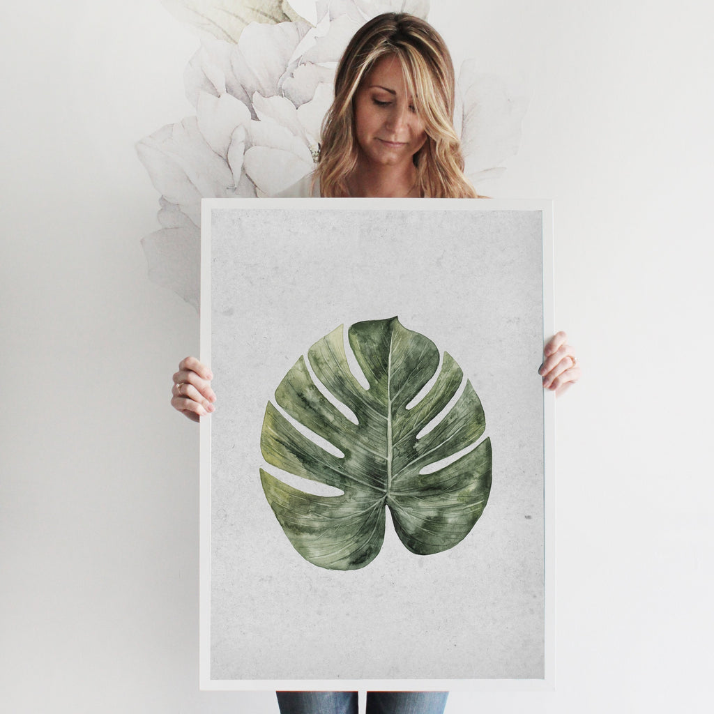 Palm Branch Art Print