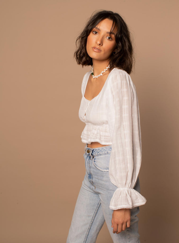Romee Blouse ~ White