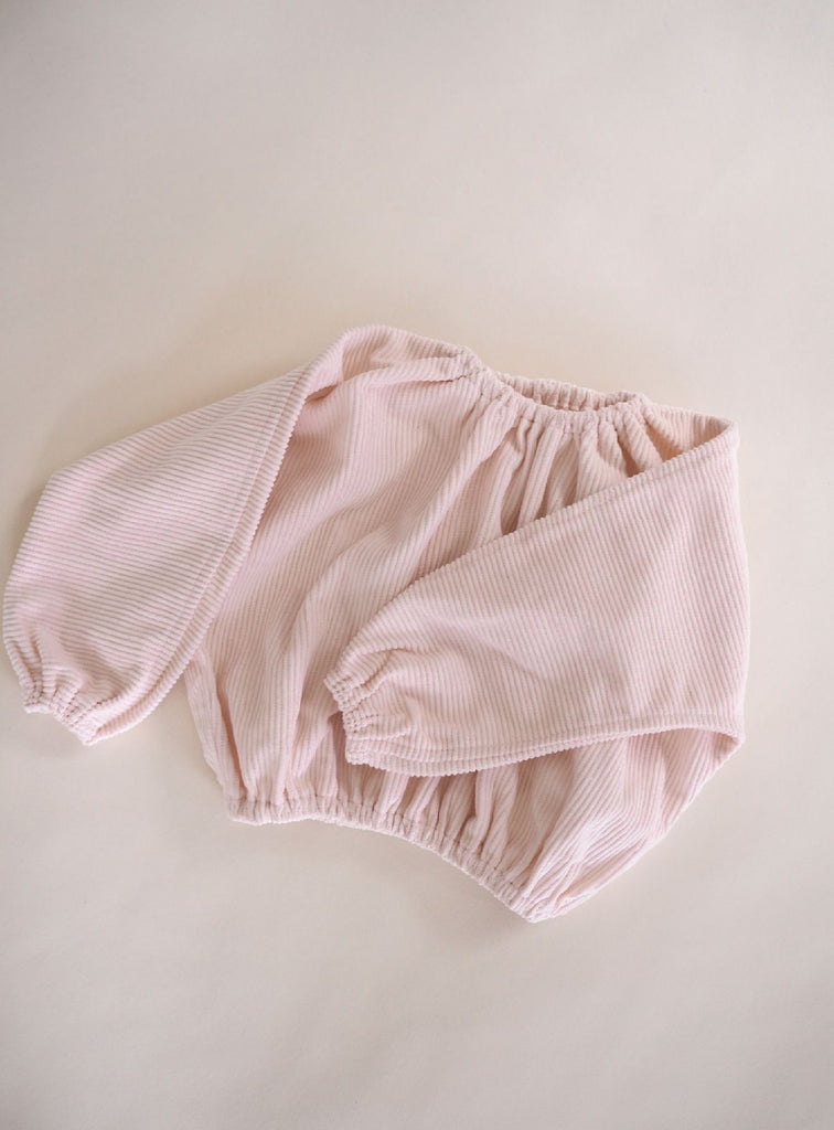 Reign Cord Pullover ~ Baby Pink