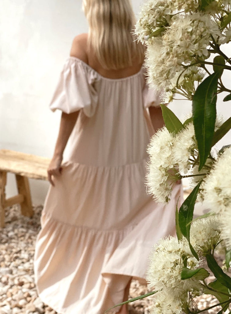 Valentina Dress ~ Barely Blush