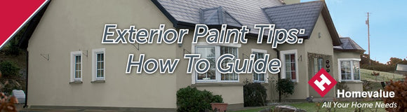 Exterior Paint Tips - How To Guide | Sheahan's Homevalue Nenagh