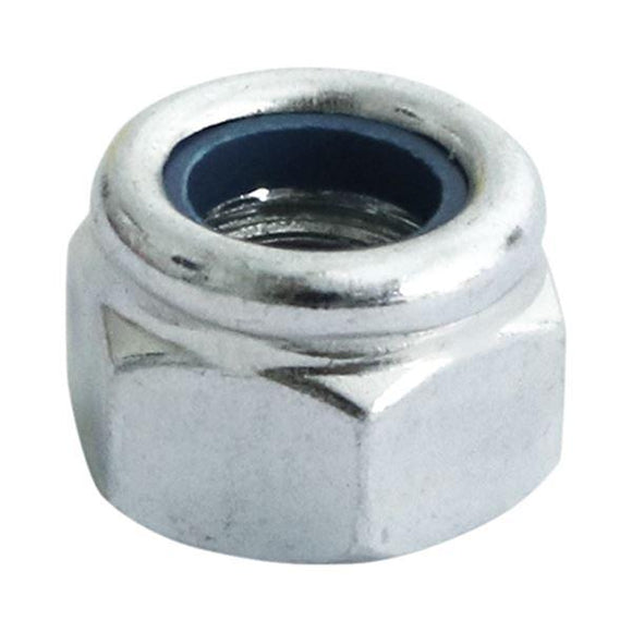 Timco Hexagon Lock Nut 8mm Pack Of 200