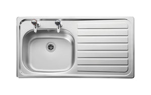 Sink [Inset] 950X508 R/Hand Dr Sb/Sd (Inc Waste) - Sheahan's Homevalue Hardware