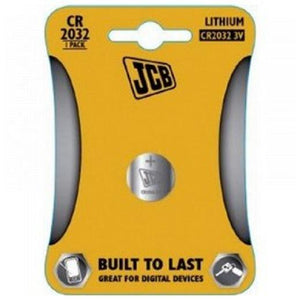 Jcb 2032 Coin Batteries (Single Pack)