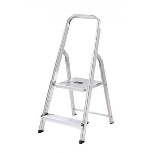 2 Tread Aluminium Step Ladder - Sheahan's Homevalue Hardware