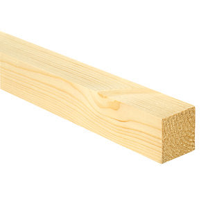 White Deal Planed Timber  50 x 44 mm