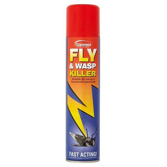 Sanmex Fly and Wasp Killer Aerosol 300ML