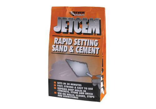 Jetcem Rapid Setting Sand and Cement