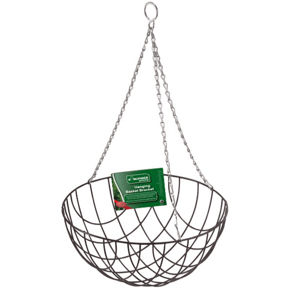 12 Inch Wire Hanging Basket.