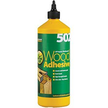 Everbuild 502 Woodglue 500ml