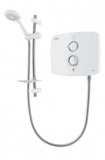 Triton Shower T90Sr White  9Kw  Silent Running - Sheahan's Homevalue Hardware