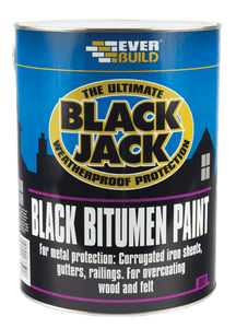 Black Bitumen Paint 5Ltr