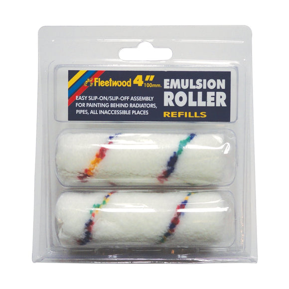 Long Pile Fabric Replacement Roller Sleeves 4