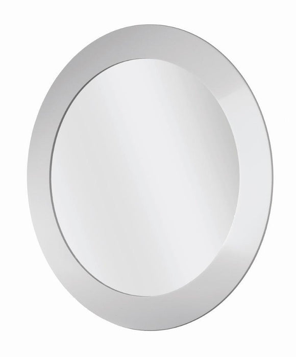Round Frosted Mirror 400mm