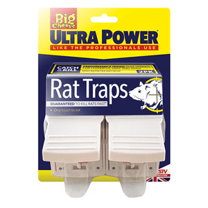 Big Cheese Ultra Power Rat Trap 2 Pack