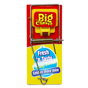 Big Cheese Fresh Baited Mouse Trap