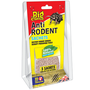 Big Cheese Anti Rodent Sachets 5 Pack