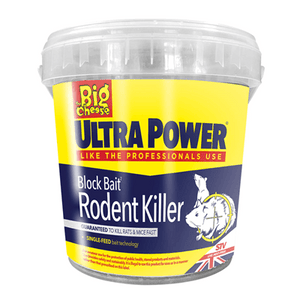 Big Cheese Ultra Power Block Bait Rodent Killer 15 x 20g