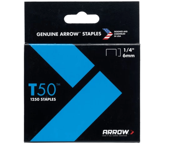 Arrow Staples 6mm Pack Of 1250