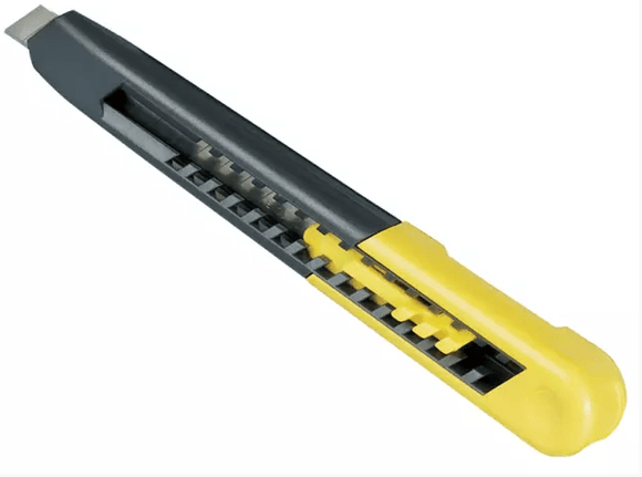 Stanley 9mm Plastic Knife Snap Off Blade