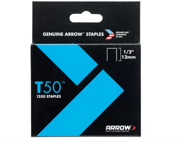 Arrow Staples 12mm Pack Of 1250