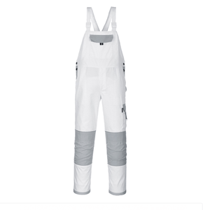 Portwest Painter Bib & Brace White