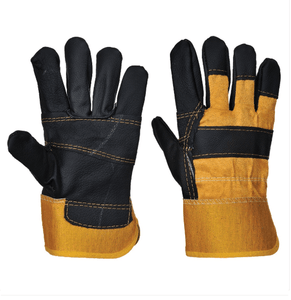 Portwest Furniture Hide Gloves Yellow X-Large