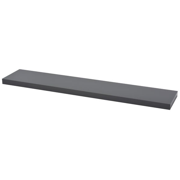 Duraline Floating Shelf Gloss Grey Available In Three Sizes