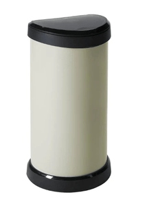 Curver 40ltr Deco Touch Bin Ivory