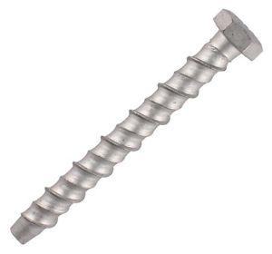 Timco Hex Head Concrete Bolt 10 x 100 Pack Of 12