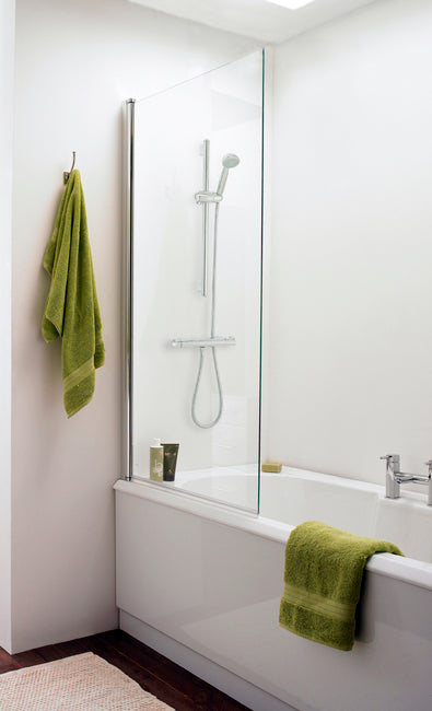 Nssq3 Prima  Bath Screen 1400X800mm  Rectangular (6mm)