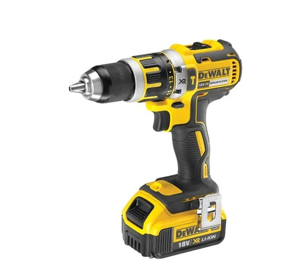 Delwalt DCD795M1 Brushless Hammer Drill Driver 18V 1 x 4.0Ah Li-ion - Sheahan's Homevalue Hardware