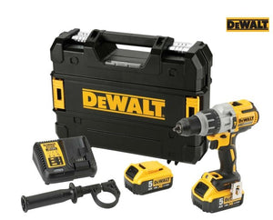 Delwalt DCD996P2 XR Brushless Combi Drill 18V 2 x 5.0Ah Li-ion - Sheahan's Homevalue Hardware