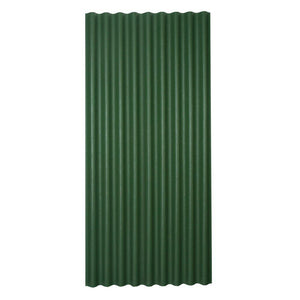 Green Non Drip Corrugated Roof Sheeting Ordered Per Metre