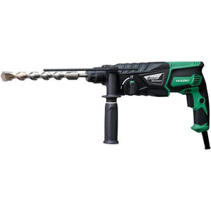 Hikoki DH26 SDS Plus 3 Mode Rotary Hammer Drill 110v Or 230v - Sheahan's Homevalue Hardware