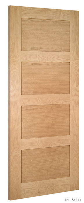HP1 Solid Oak Door