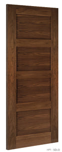 HP1 Solid Walnut Door