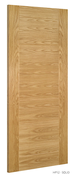 HP12 Solid Oak Door