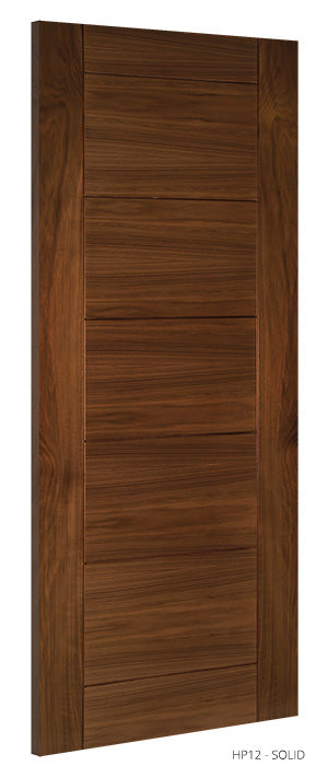 HP12 Solid Walnut Door