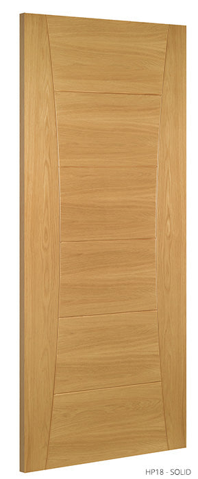 HP18 Solid Oak Door