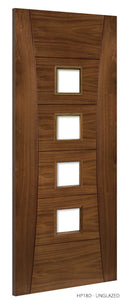 HP18 Unglazed Walnut Door