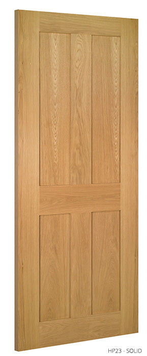 HP23 Solid Oak Door