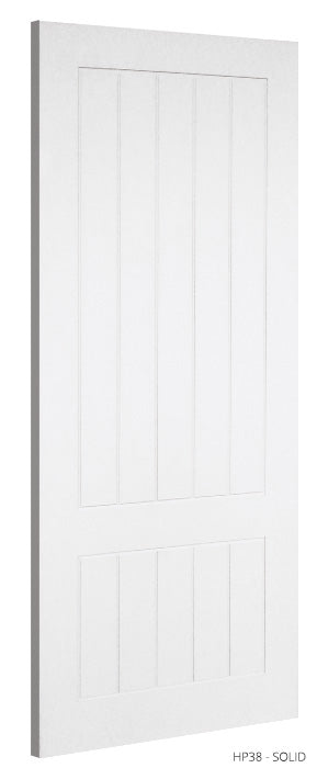 HP38 Solid White Primed Door