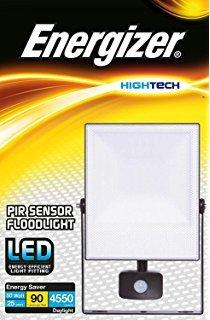 Energizer Led Floodlight 10Watt With Pir