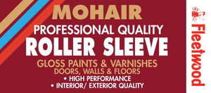 Short Pile Mohair Replacement Roller Sleeve 9""
